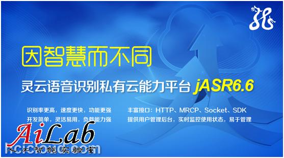 灵云语音识别(ASR)私有云平台隆重登场